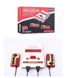 Wholesale Mini Av - HDMI AV Out Put Mini FC Video Game Console NES HD Edition Family Computer Built-in 600 Classic Games for NES Classic Game Collection