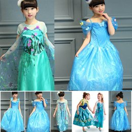 Wholesale Bride Children Dresses - Cosplay Costume Princess Dress New Girls Gauze Lace Party Bride Dresses For Children Birthday Gifts PX-A16