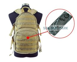 Wholesale Molle Backpack Cordura - Military Tactical Phantom MOLLE Cordura H.A.W.G Hydration Backpack w 2.5L bladder Outdoor Airsoft Hiking Durable Shoulder Bag order<$18no tr