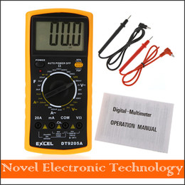 Wholesale Digital Multimeter Free - Free shipping DT9025A AC DC Professional Electric Handheld Tester Meter Digital Multimeter