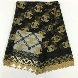 Wholesale Swiss Line - 2017French Line High Quality African Swiss Voile Tulle Mesh Lace Fabric For Wedding Dress,Nigerian pl8328