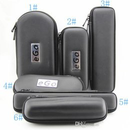 Wholesale Ego Vv Kits - HOT SELLING Ego cases electronic cigarette e cig zipper cases for ego t ego vv evod ce4 ce5 ce4+ ce5+ mt3 protank e-cigarette ego start kit