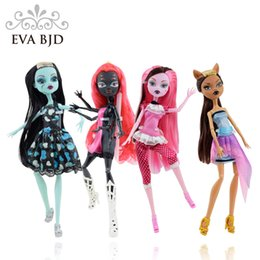 Wholesale Dolls Clothes Bjd - 1  6 Bjd Doll 26cm High Wolf Spider Deer Animal Zombie Dead Walking Doll Monster Jointed Dolls Free Clothing Toy Gift Db006 -1 -4