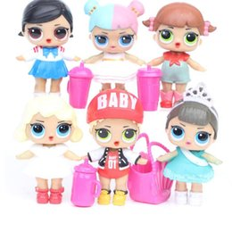 oficinas pp Rebajas New Surprise Doll 6 Girls Surprise Baby Hand Muñeca de oficina Lol Dolls Lol Boneca