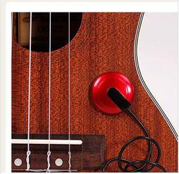 Wholesale Violin Parts - Piezo Contact Microphone Pickup for Guitar Violin Banjo Mandolin Ukulele Guitar Parts & Accessories hight quality original 15% off new