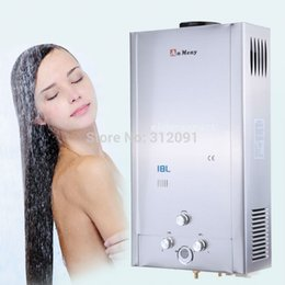 Wholesale Gas Tankless Water - 18L New LPG GAS TANKLESS INSTANT HOT WATER HEATER STAINLESS Propane 18L