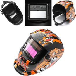 Wholesale Solar Auto Welding Mask - Solar Power Auto Darkening Arc Tig Mig Grinding Welding Helmet Welders Mask MAC_106