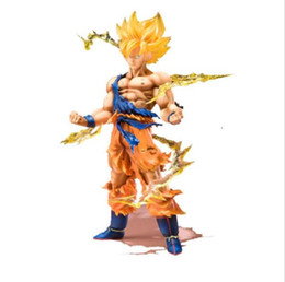 Wholesale Dragon Ball Z Son Goku - Original Box Anime Dragon Ball Z Action Figures Super Saiyan Son Goku PVC Model Collection Dragonball Figurine Kids Toys