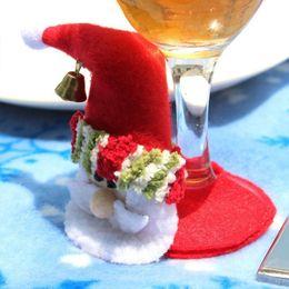 Wholesale Hot Pad Placemats - Wholesale- 1 pcs High quality Santa Claus Cup Pad Placemats Xmas Home Party Decor Christmas Coasters Hot sale