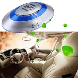 Wholesale Ozonizer Car - Universal Auto Car Air Freshener Cleaner Purifier Oxygen Bar Ionizer Ozonizer Ozone Disinfector Sterilizer Deodorizer for Auto