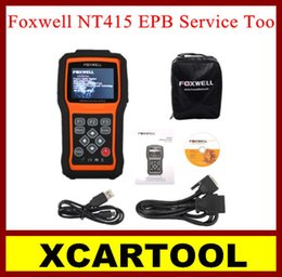 electronic parking tool Canada - New arrival [XCARTOOL] Profesional Foxwell NT415 EPB Service Tool NT415 Electronic Park Brake Service Tool Special Maintenance of Brake Syst