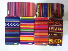 Wholesale Aztec Tribal Iphone Hybrid - Aztec Tribal Tribe Retro Vintage Leather Hybrid PC Plastic Hard Case For iphone 6 6S 4.7 Plus 5.5 5 5S Colorful Fashion Skin cover 100pcs