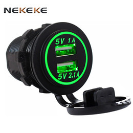 Wholesale File Car - car parts wholesale waterproof switch with LED blue dual lights car modified switch 2 file switch