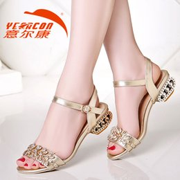 Wholesale Bride Heel Sandals - Hot, and in 2015, the new fashion wedding shoes silver Rhine high shoes bride wedding the bride's shoes, sandals, 2016