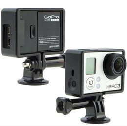 Wholesale Hd Thumbs - Gopro Camera Accessories Tripod Mount Adapters + Long Thumb Knob Screw Bolt for Gopro HD Hero 3+ 3 2 1 sj4000 Drop Shipping
