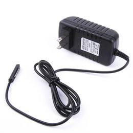 """Wholesale Tablet Pc For 48 - For Microsoft Surface RT 2 Wall Charger 12V 2A US Plug Travel Home Chargers Supply AC DC Charging Power Adapter for Tablet PC 10.6"""" PW3"""