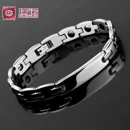 Wholesale Tungsten Gold Fade - Do not fade! Korean Fashion Bracelet titanium bracelet for men boys Metrosexual lovers hand jewelry gift female personality