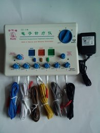 Wholesale Electric Stun - Genuine medical Hua card SDZ-II Electronic acupuncture treatment instrument instrument electric stunning electro-acupuncture device acupunct