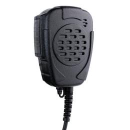 Wholesale Kenwood Handhelds - New K-SM12 Handheld Microphone Mic Mini Speaker IP54 Waterproof for Kenwood TK2130 TK370 for BAOFENG UV5R UV5RA J6172A