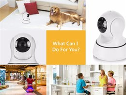 Wholesale Indoor Outdoor Ip Camera - SANNCE Wifi IP Camera Wireless Table Clock Alarm 720P HD Mini In Outdoor Home Security Surveillance CCTV IR Night Vision DVR Baby Monitor