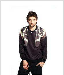 Wholesale Skeleton Tracksuit - New Sweatshirt Men Clothing 3D Print Stars skeleton skull Hoodies Sweatshirts Hip Hop Tracksuit Pullover Casual Sweatshirt