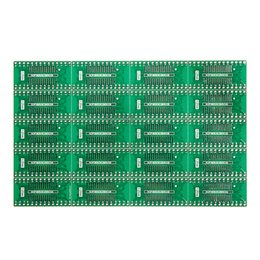 Wholesale Adapter Regulator - Top Quality 20 Pcs SOP SSOP TSSOP SOIC28 To DIP Adapter PCB Board Converter Double Sides