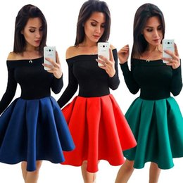 Wholesale Long Pleated Skirt Pattern - Dress 2017 New Pattern Woman Fashion Thick And Disorderly Skirt Russia Suit-dress FC180 Pleated Panelled