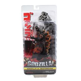 Wholesale Godzilla Models - NECA Movie Godzilla 1985 PVC Action Figure Toys Collectible Model Dolls Toy 17cm Approx Great Gift