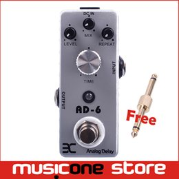 Wholesale Ex Micro - ENO EX TC31 Micro AD-6 Analog Delay Guitar Effect Pedal Compact MINI Size True Bypass Free shipping MU0135
