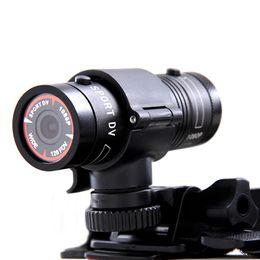 Спорт hd dv 264 онлайн-Бесплатный DHL Mini DV Full HD 1080P H. 264 5MP водонепроницаемый алюминий спортивная камера видеокамера F9 120 градусов широкий объектив для автомобиля открытый велосипед шлем