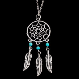 Wholesale Gypsy Pendant - Statement Necklaces 2016 Bohemian Gypsy Ethnic Choker Vintage Necklaces & Pendants Leaf Tassel Fine Jewelry Pendant Maxi Colar Necklaces