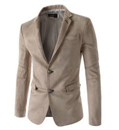 Wholesale High Fashion Suits For Men - Wholesale-High quality 2015 New Brand Blazer Men Suits For Mens Black Business Fashion Coats Men's Blazers Suit Jackets