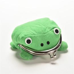 Wholesale Naruto Frog Plush - Naruto Cute Frog Wallets Children Kids Frogs Plush Coin Zero Purse Uzumaki Pouch Handbag Cosplay Goods With Iron Button