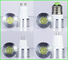 Wholesale E27 Neon - 1W 3W Mini led bulb E27 E14 GU5.3 GU10 MR11 AC90-260V 35mm Mini led lamp white or Warm white RoHS CE