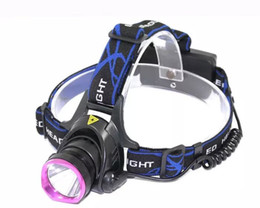 headlights for cars Promo Codes - Waterproof CREE XM-L T6 LED 2000LM Rechargeable Headlamp Headlight with Car for Bicycle Outdoor Fishing Head Lamp + AC Charger+Car Charger