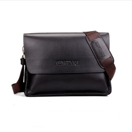 Wholesale Soft Pads Handle - Classic men briefcase Genunie leather vertical soft cowhide shoulder bag casual bag man horizontal messenger bag laptop I pad free shipping