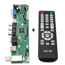 Wholesale Tv Av Controller - Universal LCD Controller Board Resolution TV Motherboard VGA HDMI AV TV USB HDMI Interface Driver Board