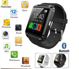 Wholesale Cheap Fitness Watches - Smartwatch U8 Bluetooth Anti-lost 1.5 inch Wrist Watch U Watch For Smartphones iPhone Android Samsung HTC Cell Phones Cheap sale