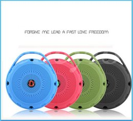 Wholesale Travel Shock - Mini Pocket Portable Bluetooth Speaker Travel Hike Walk Run Sport Outdoor Wireless Heavy Bass Shocking Voice HiFi Music Speaker Box MIS043