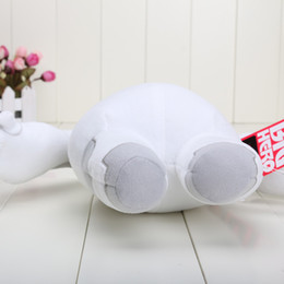 """Wholesale Toy Moving Animal Doll - Wholesale-12""""30cm Big Hero 6 BAYMAX Stuffed Animal Plush Toy Doll For Girl Hands can't move"""