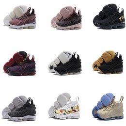 watch 2af3d b7265 2018 alta calidad SUPER STAR king 15 zapatillas de baloncesto Ghost CUEVAS  llegada zapatillas 15s wite negro hombres zapatillas de baloncesto 15  tamaño 40- ...