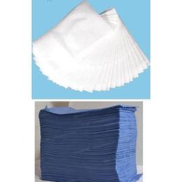 Detalhes sobre 50PCS / Lot Descartáveis Bed Pads Cover Sheets 80cm x 100cm Azul ou Branco de Fornecedores de rádios de quansheng