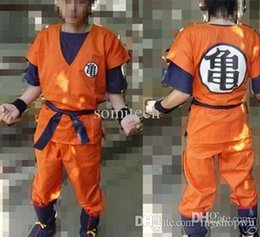 Wholesale Goku Costume Female - Wholesale-Dragon Ball Z Cosplay GoKu cosplay costume