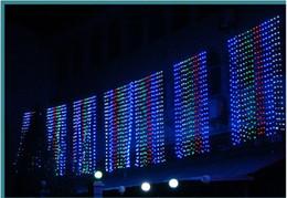 Lumières pour le mariage en Ligne-4m * 3m 400 LED lumières rideaux lumières allumant 8AC110V-220V mode mariage fée lumières extérieures imperméables
