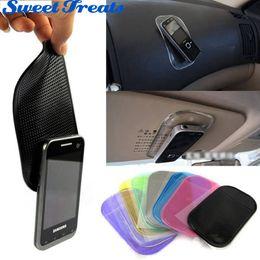 Wholesale Mp3 Modern - Wholesale- Sweettreats Desk Anti-slip Sticky Pad Mat in Car for Gadgets Accessory car phone shelf antislip mat gps mp3 cell holder