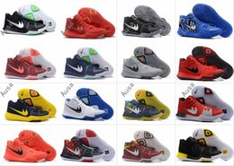 Wholesale Table Tennis Training Balls - 2017 New Arrival Kyrie Irving 3 Signature Game Basketball Shoes For Top Quality Men's Sports Training Basket ball Sneakers Size 40-46