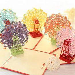 50pcs Handmade Chinese Pavilion 3D POP Up G