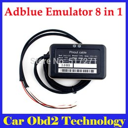 Wholesale Engine Usb - 2017 New Arrival Adblue 8 in 1 AdBlue Emulator with NOx sensor adblue emulator 8in1 for f-ord and other 7 kinds truck Free Shipping
