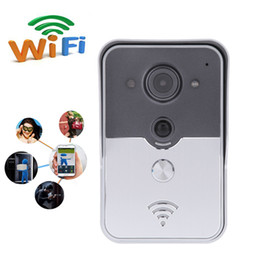 Wholesale Door Phone For Home - Wireless WiFi Video Visual Door Phone Doorbell P2P PIR Detection Home Security for Android IOS Mobile Phone Tablet PC
