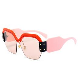 335bb5cca Óculos De Sol Metade Do Quadro On-line | Óculos De Sol Metade Do ...